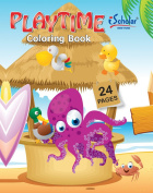 iScholar Playtime Colouring Book, 28cm x 21cm , 24 Pages, Assorted Designs