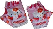 Hello Kitty cycling gloves