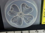 Plastic dogwood flower resin mould 746