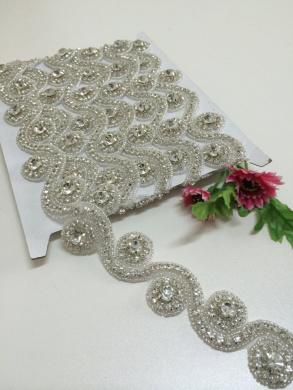 ShiDianYi Rhinestone bridal sash, Wedding Dress Bridal Belt , Crystal Sash Belt, DTY!