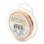 Artistic Wire 22-Gauge Bare Copper Wire, 15-Yards