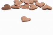 RMP Stamping Blanks, 2.9cm x 3.2cm Heart, 470ml Copper, 24 Ga. - 10 Pack