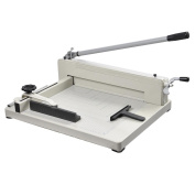 Yescom 400 A3 Sheet Capacity, 43cm Cutting Length Industrial Guillotine Paper Trimmer Cutter Stack Heavy Duty Steel Base