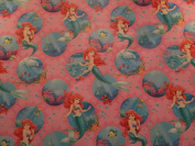 The Little Mermaid Ariel Birthday Gift Wrapping Paper