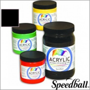 Speedball Acrylic Screen Printing Ink 3.8l - Black