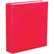 Project Life Album, 15cm by 20cm , Red Polka Dot