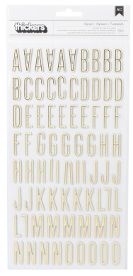 Pebbles Jen Hadfield Cottage Living Foil Thicker, White and Gold