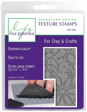 Lisa Pavelka Texture Stamp Kit Far Out (Style #082)
