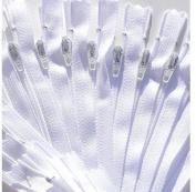 Zipperstop Wholesale YKK® SALE 50cm Zipper YKK Colour 501 White #3 Skirt & Dress