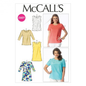 McCall Pattern Company M6927 Misses/Womens Tops and Tunics, Size B5