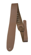 Perris Leathers B25-181 6.4cm Brown Plain Leather Adjustable Guitar Strap
