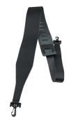 Perris Leathers BBJ-87 6.4cm Black Leather Banjo Adjustable Guitar Strap