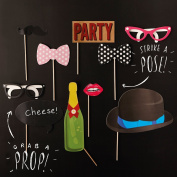 Ginger Ray Party Photo Booth Party Props - Photo Booth Range Decorations