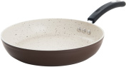 30cm Stone Earth Frying Pan by Ozeri, with 100% PFOA-Free Stone-Derived Non-Stick Coating from Germany, Coconut Brown