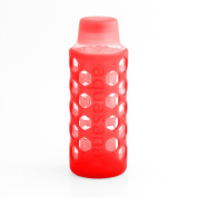 530ml Glass Water Bottle with Silicone Sleeve