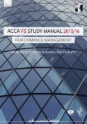 ACCA F5 Performance Management Study Manual Text