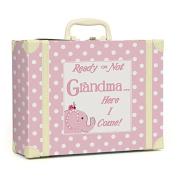 Child to Cherish Polka Dot Going to Grandma's Keepsake, Pink