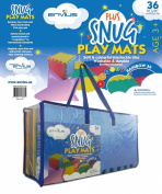 EnviUs Snug Plus Play Mat Rainbow 36