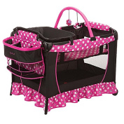 Minnie Mouse Play Yard Bassinet Playpen Crib Nappy Changer