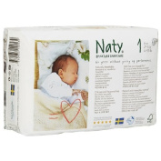 Naty by Nature babycare Eco-Nappies, Size 1 26 ea