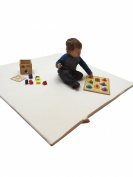 Baby Bello Organic Play Mat for Babies, Toddlers and Kids- Made of 100% Certified Organic Cotton, Plant Based Foam and Non Toxic Materials
