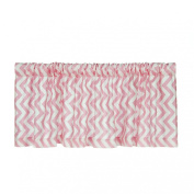 Sweet Potato by Glenna Jean, Valance - 180cm x 46cm - Pink Chevron