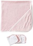 Burt's Bees Baby 2 Ply Towel + 3 Washcloth Set - Blossom