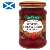 Mackays Strawberry Preserve Erdbeer 340 g