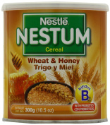 Nestle Nestum Cereal, Wheat and Honey, 310ml Container