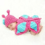Towallmark Creative Lovely Knit Crochet Minnie Clothes Photo Prop Outfits For Baby