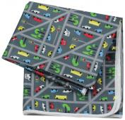 Bumkins Waterproof Splat Mat, Traffic