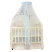 Sunward Summer Baby Bed Mosquito Mesh Dome Curtain Net for Toddler Crib Cot Canopy