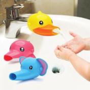 Cartoon Faucet Extender. Make Your Kids Love Hand Wishing