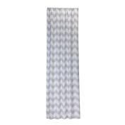 Little Bedding Chevron Window Panel, Grey