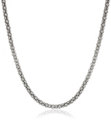 Sterling Silver Italian Popcorn Chain Necklace