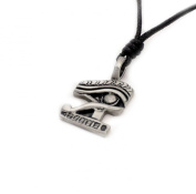 Egyptian Silver Pewter Charm Necklace Pendant Jewellery