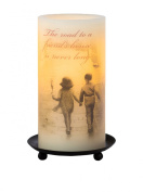 "Candle Impressions ""Friendship Sentiment"" Flameless Candles with Timer"