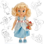 Cinderella Princess Doll 41cm H w/ Jaq - Disney Collectors Series - Collectible Character