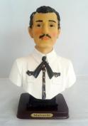 20cm Statue Bust of Jesus Malverde Sinaloa Figurine Mexico Estatua Figure