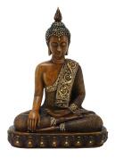38cm Buddha Earth Touching Mudra Statue