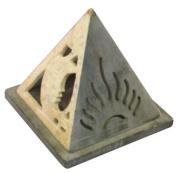Stone Pyramid Shaped Celestial Burner