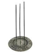 Tibetan Incense Holder Om- 11cm diameter