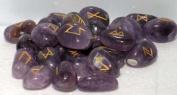 Amethyst Set of Rune Stones