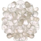 0.5kg Tumbled Clear Quartz Stone Large 2.5cm + Polished Crystal Healing *Wholesale Bulk Pound Lot*