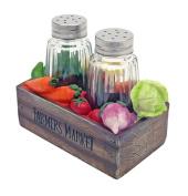 Veggie Box Salt & Pepper Shakers