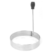 Water & Wood Stainless Steel Round Shape Omelette Pancake Egg Ring Mould