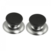 2 Pcs Round Pot Lid Handle Replacement