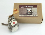 Woolbuddy Needle Felting Cat Kit