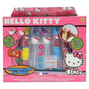 Hello Kitty Personalised Ear Buds Craft Kit