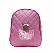 Quilted Tutu Dance Backpack Light Pink